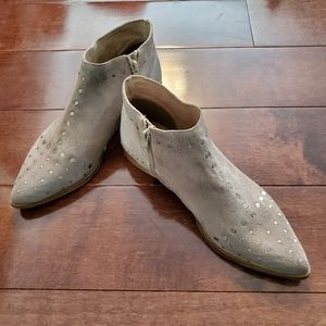 Free People Suede Booties Women's Size 38